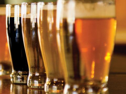 Una vista común durante la SDT Beer Week